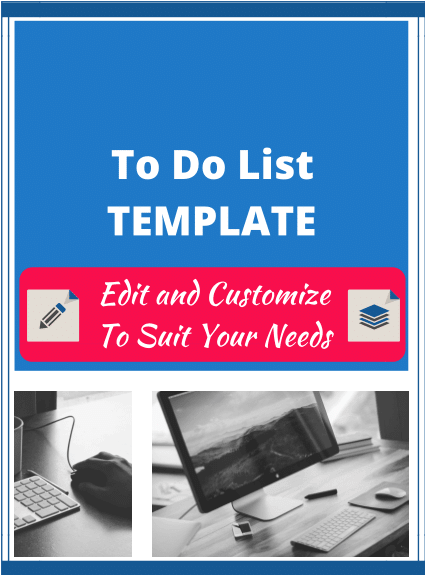 To Do List Template - The ECA Free Resource Library