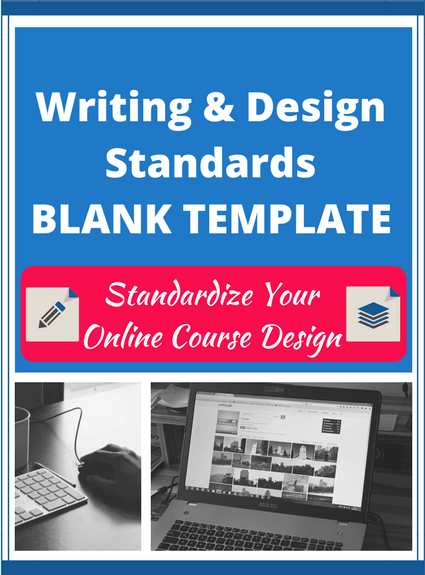 Writing and Design Standards Blank Template