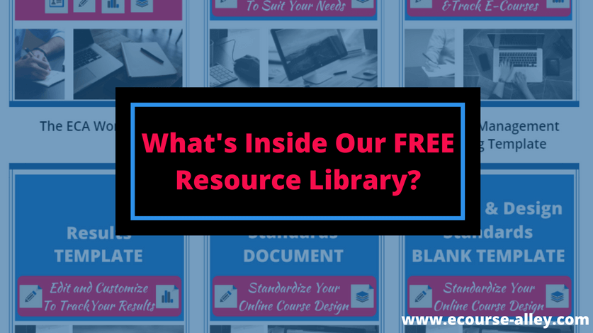 What's Inside Our Free Resource Library?