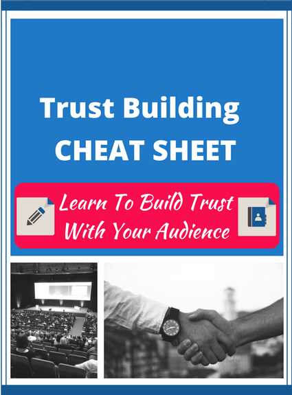 Trust Building Cheat Sheet