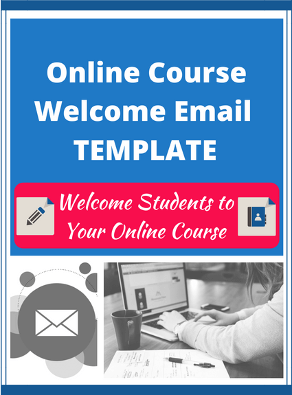 Online Course Welcome Email Template