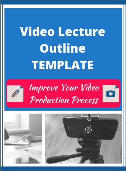 Video Lecture Outline Template